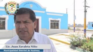 CAMPAÑA DE FUMIGACIÓN A INSTITUCIONES EDUCATIVAS  EN EL DISTRITO DE HUALMAY