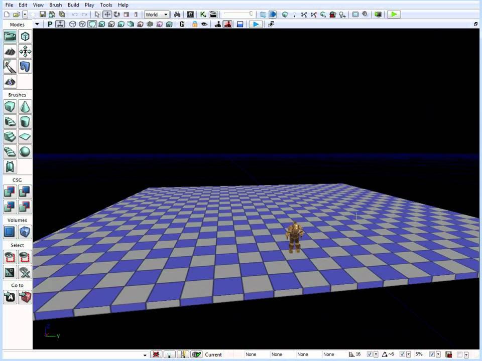 UDK: BSP Brushes Block In Tutorial - Simple Room/Env Creation Part 1/3  [Tutorial #05]
