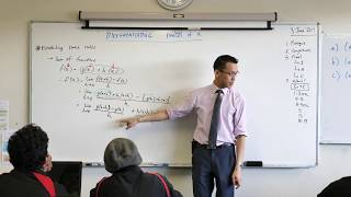 Basics of Calculus, continued (1 of 2: Sum of functions)