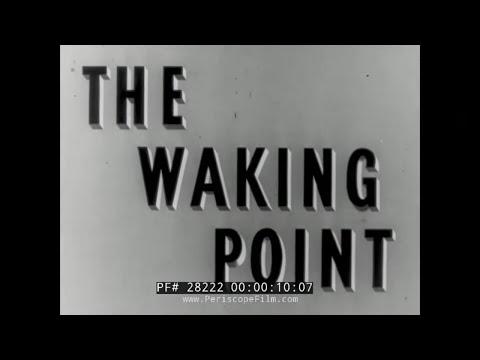"BRITISH CIVIL DEFENSE FILM ""THE WAKING POINT"" 28222"
