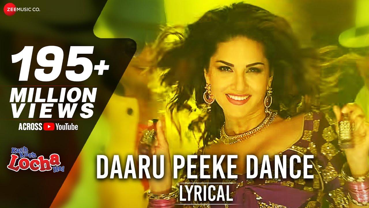 Daaru Peeke Dance Lyrical Video | Neha Kakar | Kuch Kuch Locha Hai | Sunny Leone  | Amjad Nadeem