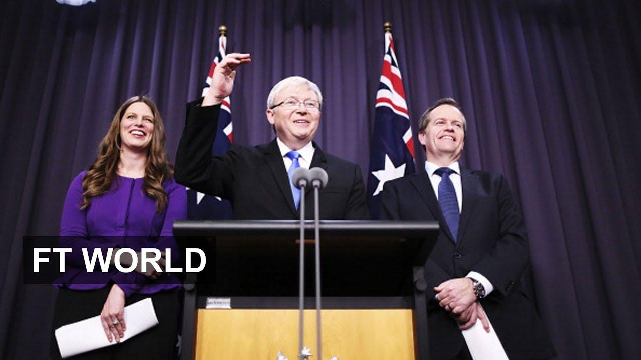 Kevin Rudd Calls Australia Election Youtube