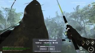 Fishing Planet. Северная Каролина. Трофейный Оливковый Сом