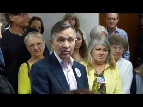 Dennis & Elizabeth Kucinich support Measure 92
