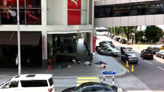 Video Strange fainting spotted at Bangsar Village, KL download MP3, 3GP, MP4, WEBM, AVI, FLV Agustus 2018