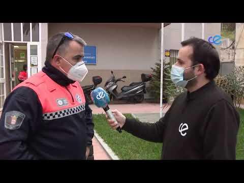 La Policía Nacional custodia el reparto diario de las vacunas