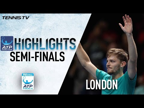 Highlights: Goffin Topples Federer To Reach Nitto ATP Finals Championship 2017