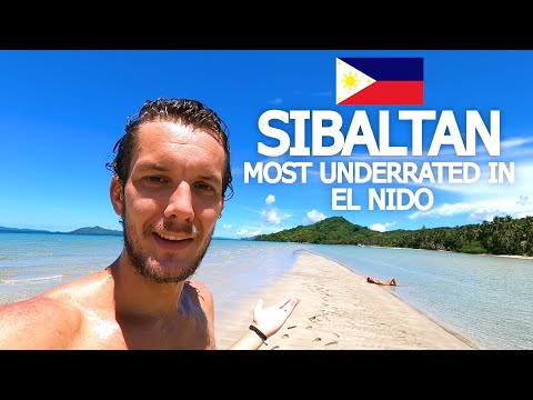 SIBALTAN PHILIPPINES 🇵🇭 THIS PLACE IS INCREDIBLE! (EL NIDO)