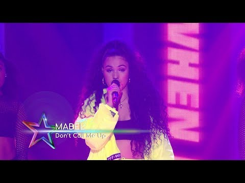 Mabel - 'Don't Call Me Up' (Live At The Global Awards 2019)