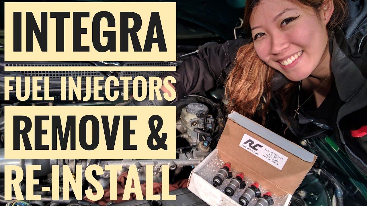 How to Remove & Reinstall Integra Fuel Injectors (VLOG 7)