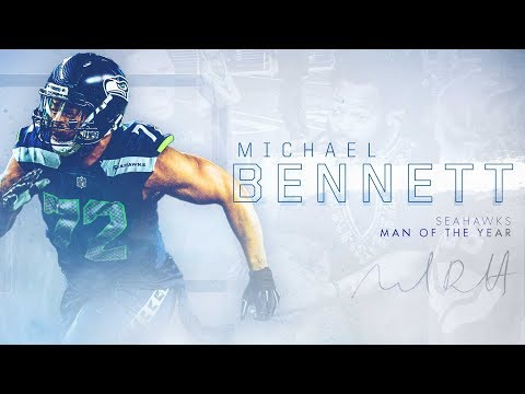 Seahawks Defensive End Michael Bennett Nominated For Walter Payton NFL Man Of The Year Award