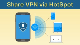 How to Share Android's VPN Connection via Hotspot [No Root] screenshot 5