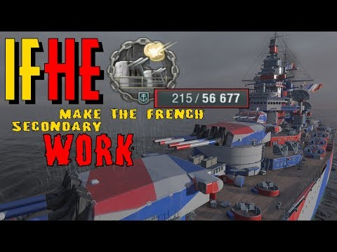 Alsace IFHE World of Warships