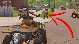 watch this video or this default gets hit by a quadcrasher on Fortnite...