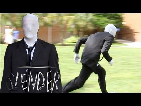 Slender Man Does Parkour (Parkour and Freerunning)