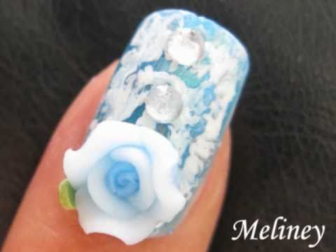 Nail Art Tutorial Tie Dye Fimo Flower Blue Dance Homecoming Formal Prom Wedding Bridal Design Youtube,Fall Dresses To Wear To A Wedding As A Guest