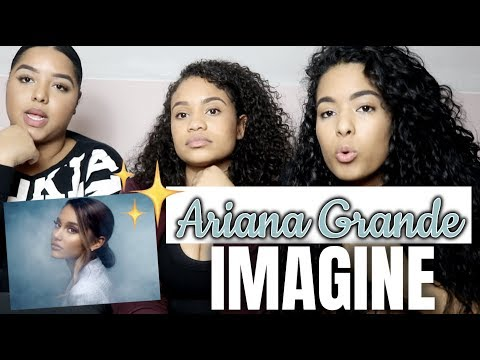 Ariana Grande - imagine (lyric video) REACTION/REVIEW