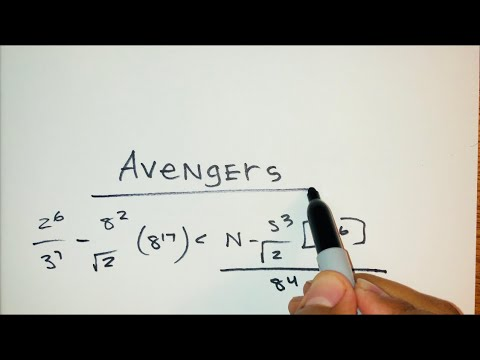 The AVENGERS theme song played with a Marker