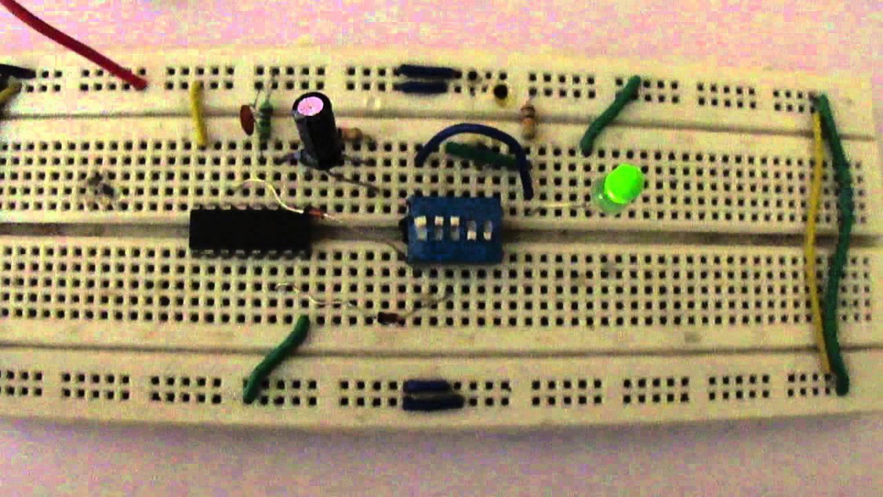 Adjustable Timer Circuit Youtube Basic Astable 555 Ic Flasher Ledandlightcircuit
