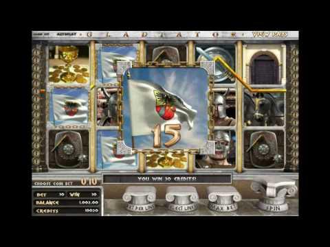 Как играть в игровой автомат Gladiator 3D. Обучающее видео.