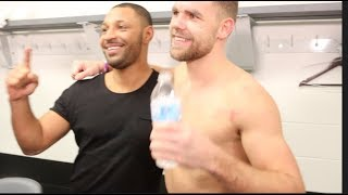 CANADA TAKEOVER! - BILLY JOE SAUNDERS, KELL BROOK & TEAM SAUNDERS CELEBRATE WIN OVER DAVID LEMIEUX