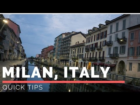 Tips for Milan,Italy