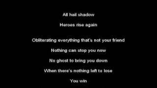 all hail shadow lyrics