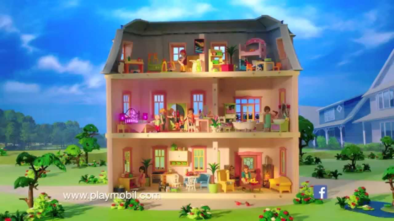 das romantische puppenhaus von playmobil deutsch youtube. Black Bedroom Furniture Sets. Home Design Ideas