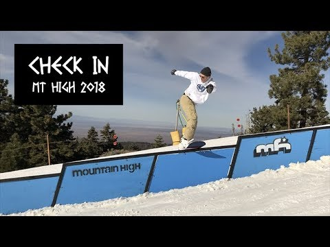 CHECK IN | Best of Mt High Snowboarding 2018