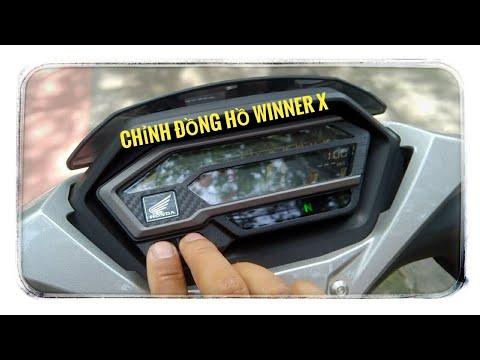 Hướng Dẫn Thay đổi Thời Gian Trên đồng Hồ Honda Winner X