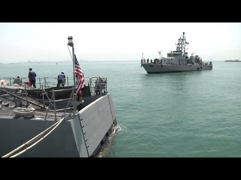 USS Hurricane, USS Monsoon Complete Transition to Bahrain