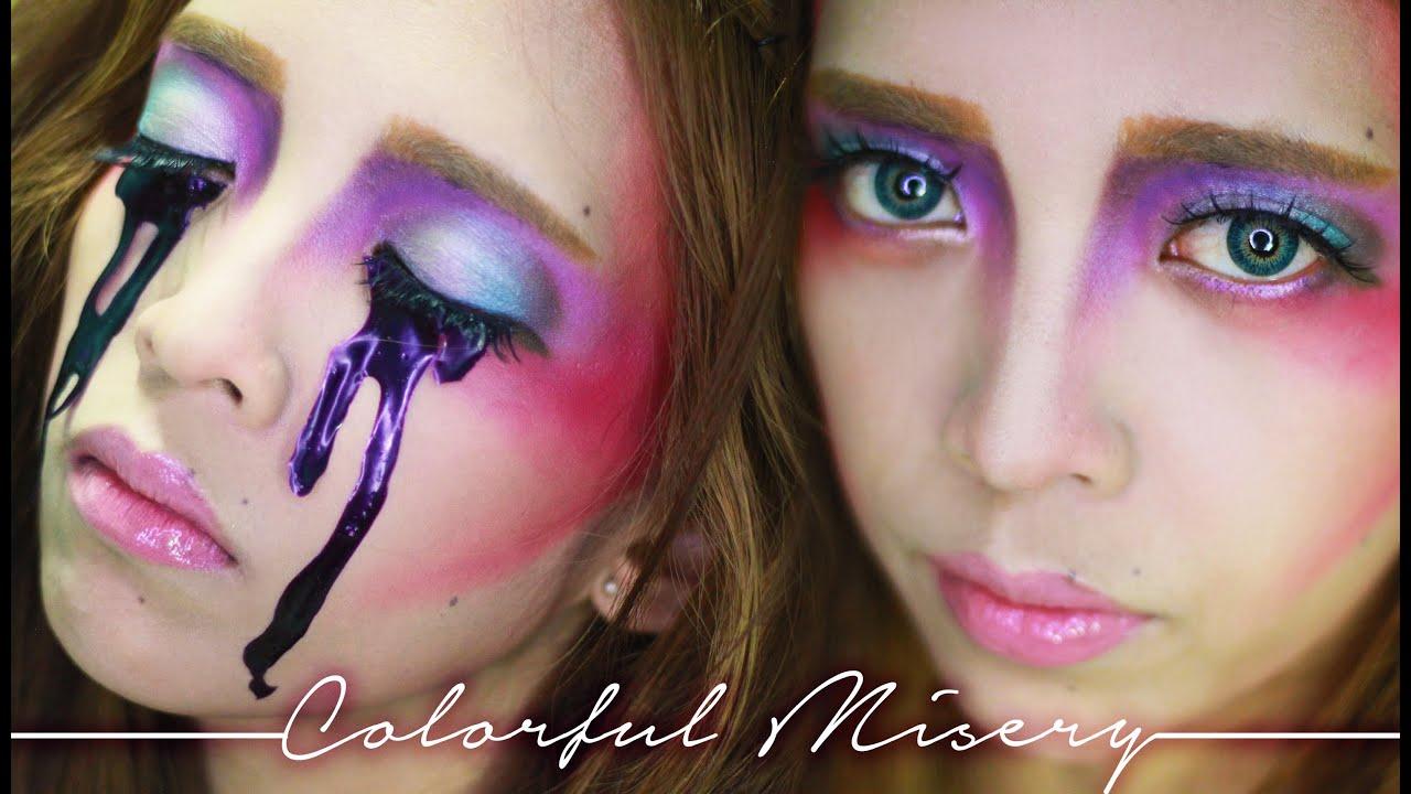 Colorful Elf / Fairy Makeup Tutorial | Halloween Series - YouTube