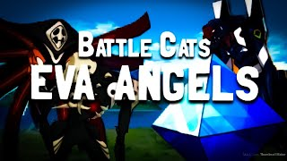 Battle Cats | Evangelion Collab | All Eva Angels (Except for Unit 13)