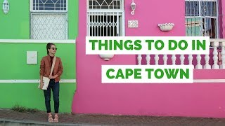 Join us as we visit Cape Town, South Africa in this travel guide on...