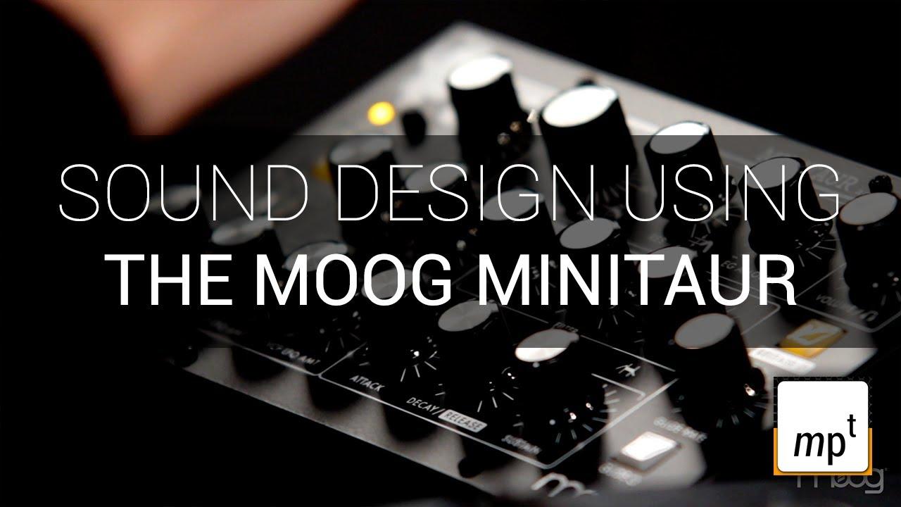 Moog minitaur creamy bass youtube.