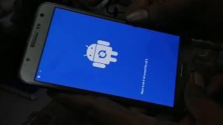 Samsung Galaxy J7  J700f  Hard Reset