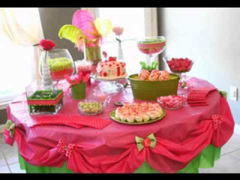 Birthday Party Table Decoration Ideas YouTube