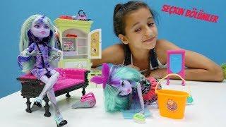 Monster High bebekleri koleksiyonu. Yeni oyuncaklar açıyoruz