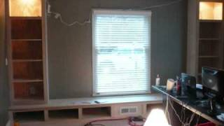 The Great Bookcase/window Seat Project Of 2008