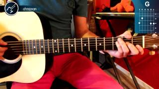 "Cómo tocar ""Hasta el Final"" de David Bisbal en Guitarra (HD) Tutorial - Christianvib"