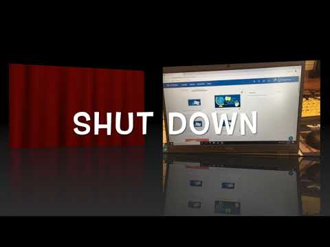 Laptop: How To Shut-Down CR Student Laptops