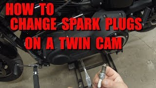 How To Change Spark Plugs On A 103 Twin Cam