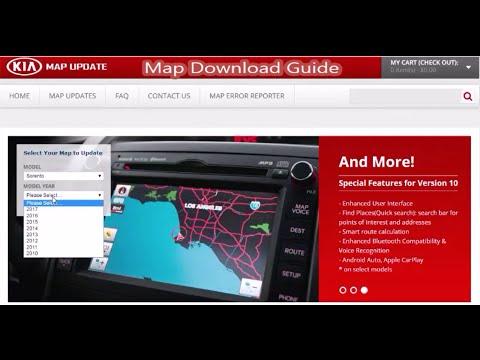Kia Map Download Guide