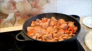ХУДЕЕМ ПРАВИЛЬНО Худеем вместе  рецепт Индейка с овощами в соусе терияки КАК ПОХУДЕТЬ