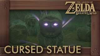Zelda Breath of the Wild - The Cursed Statue Shrine Quest
