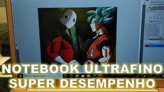 Notebook ultrafino e de alto desempenho Multilaser! (Unboxing)
