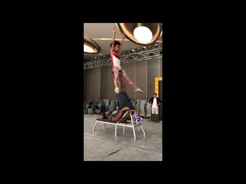 Black Excellence!: Check Out This Amazing Father/Daughter Acrobatic Duo!