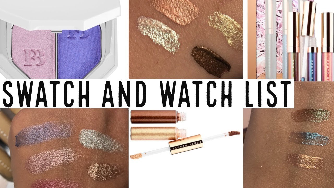 Swatch and Watch: Fenty Beauty by Rihanna - YouTube