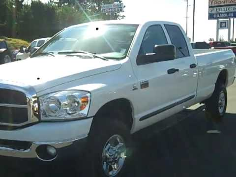 Sold 2007 Dodge Ram 2500 Crew Cab Long Bed Big Horn