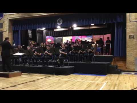 North Arlington High School Band - Great Locomotive Chase